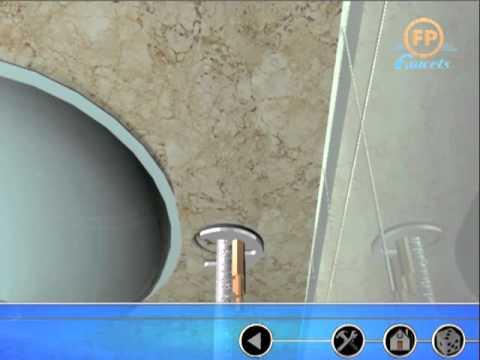 Cómo instalar un lavamanos Monomando (Fundición Pacífico)