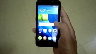 Huawei Y5C Model Y541-U02 : First Look