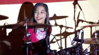 Final Countdown Live Drum Cover - Nur Amira Syahira