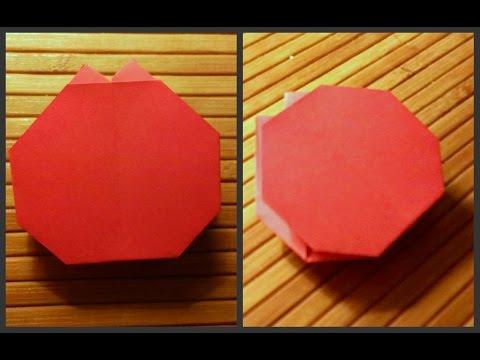 Как сделать оригами помидор
