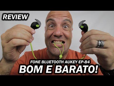 BOM E BARATO! AUKEY EP-B4 Fone Bluetooth - REVIEW