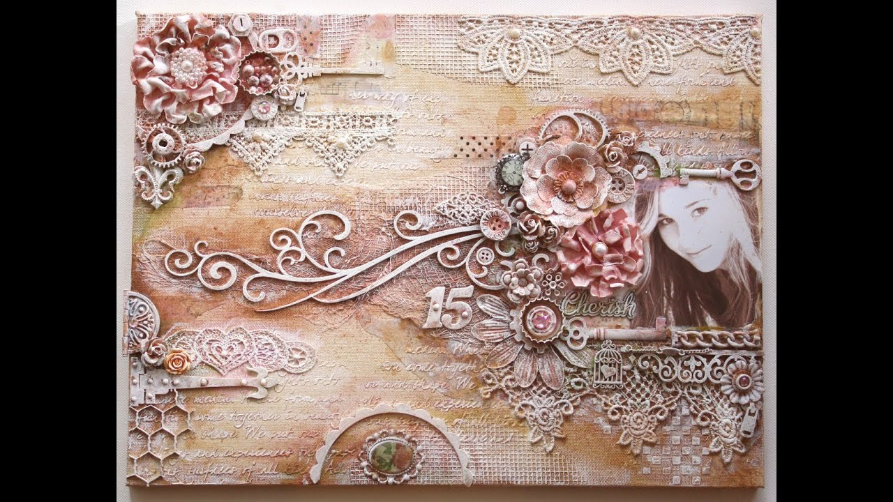 Mixed Media Canvas By Gabrielle Pollacco Youtube