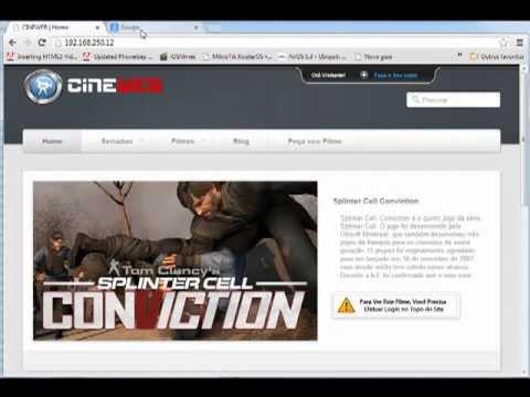 Cine Web ( Streaming de Video Ondemand ) Locadora Virtual