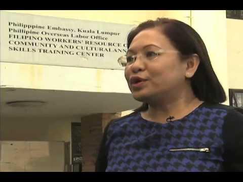Interview with Nelia Olivera, OIC Labor Attache', Philippine Embassy Malaysia 2/25/2014