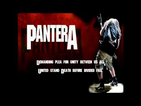 Pantera-A New Level (HQ on screen lyrics)