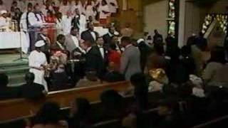 Holy Communion with Bishop GE Patterson