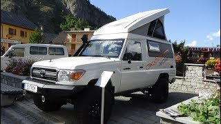 2017 Toyota Land Cruiser Expedition Camper Morpho - Exterior and Interior - Foire 4x4 Valloire 2017