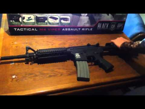 Black ops/ignite tactical m4 viper Airsoft assault rifle review