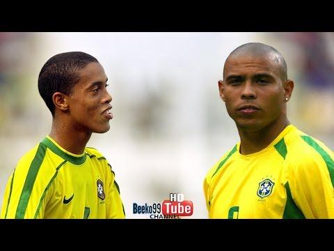 Ronaldo & Ronaldinho Show vs Argentina 1999