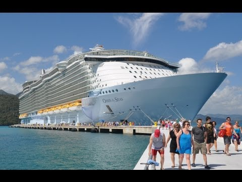 Oasis of the Seas - 7 night cruise in 3.5 minutes