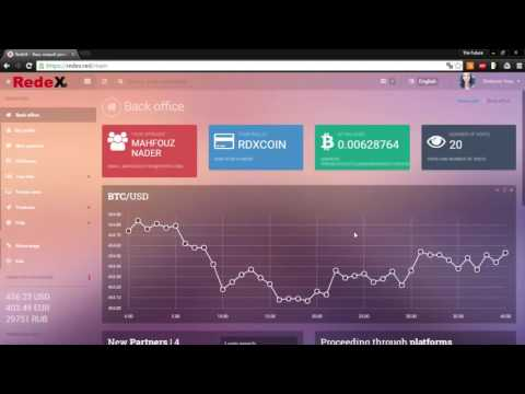 RedeX Red Registration and How to earn   Deposit 2$ and Earn 74$