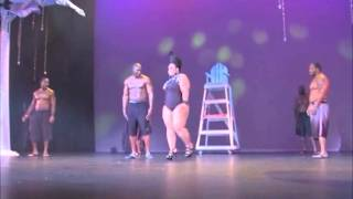 MISS MIAMI PLUS SIZE PAGEANT (2013) CATEGORY 2 - SWIMWEAR