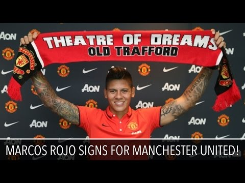Marcos Rojo Signs for Manchester United!