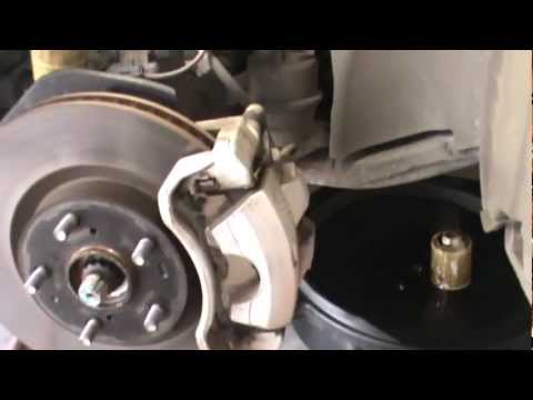 2007 Toyota Camry Front Disc Brake Replacement