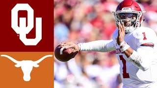 #6 Oklahoma vs #11 Texas Highlights | NCAAF Week 7 | College Football Highlights