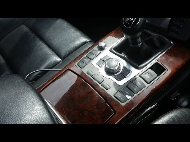 How to replace central console - MMI control, handbrake ...