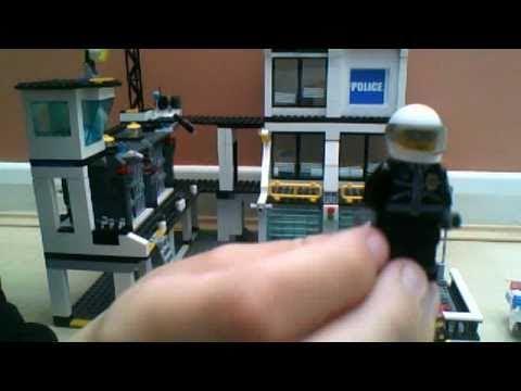 Lego City Police Headquarters set 7744 review