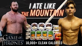 "I Tried Gregor ""THE MOUNTAIN"" Clegane's DIET (Game of Thrones)"