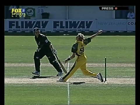 Brett Lee Fastest Over Of His Life 2005 video