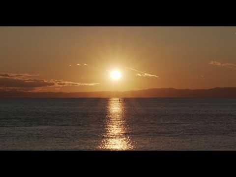 New Year's sun set