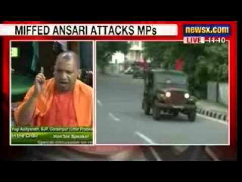 NewsX: Vice President Hamid Ansari slams MPs for breaking rules