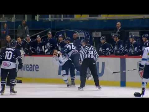 Бой КХЛ: Перкович VS Рыспаев / KHL Fight: Perkovich VS Ryspayev