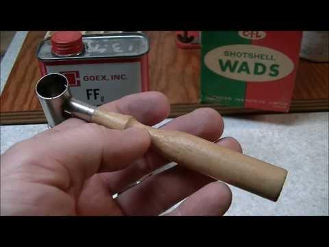 Loading 12 Gauge Black Powder Blank Shotgun Shells