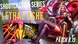 RNG UZI ASHE BUILD | PERFECT GAME | LEAGUE OF LEGENDS FULL GAME PLAY | TRUE NORTH KOALA
