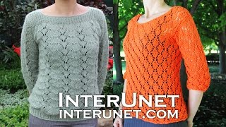 From my crochet and knitting collection - pullover sweaters