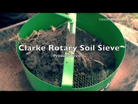 Product Review: Clarke Rotary Soil Sieve