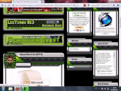 Microsoft Office 2010 Professional Plus PT-BR