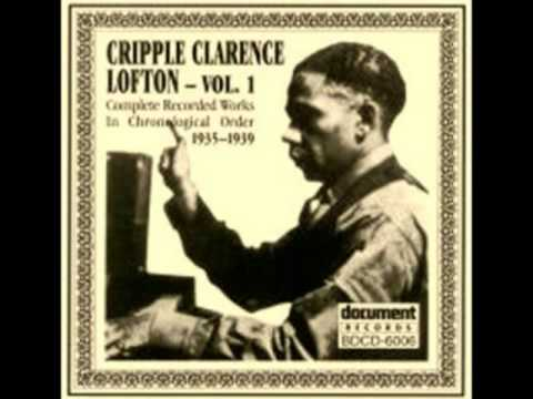 CRIPPLE CLARENCE LOFTON 'Pine Top's Boogie Woogie' (1939) Jazz Piano Legend