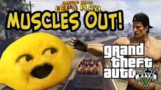 Download Lagu Grandpa Lemon Plays - GTA V: MUSCLES OUT! Gratis STAFABAND
