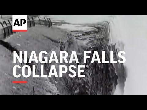 Niagara Falls Collapse - 1954