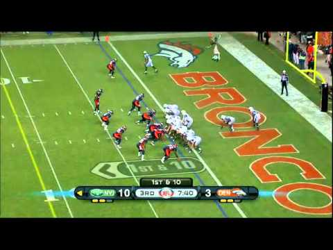 Brodrick Bunkley vs The Jets and Raiders 2011