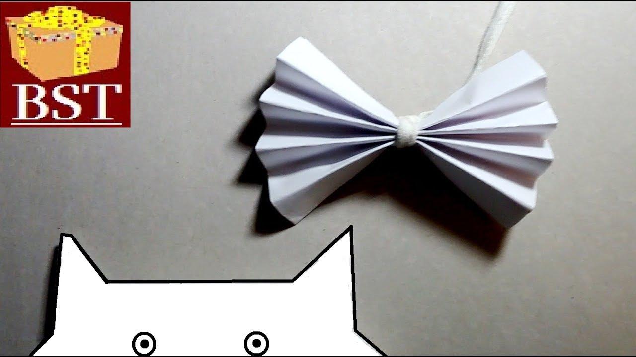 Как из бумаги сделать игрушку для кошки своими руками 68
