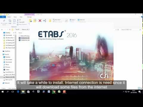 Etabs 2013 Download bản dy dựng