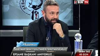 ''SEBA''SIZ 40 GÜN - BJK TV Program Bölüm 3