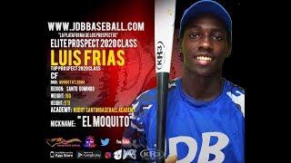 Luis Frias OF 2020 Class from (Ruddy Santin Baseball Academy) Date Video: 15.01.2019