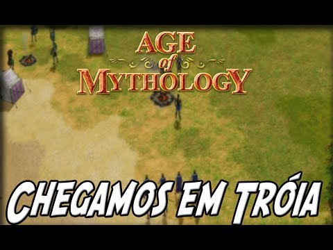Age Of Mythology: O PRIMEIRO ATAQUE À TROIA #3
