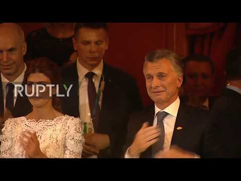 Argentina: Macri gets emotional after dazzling cultural performance for G20 leaders