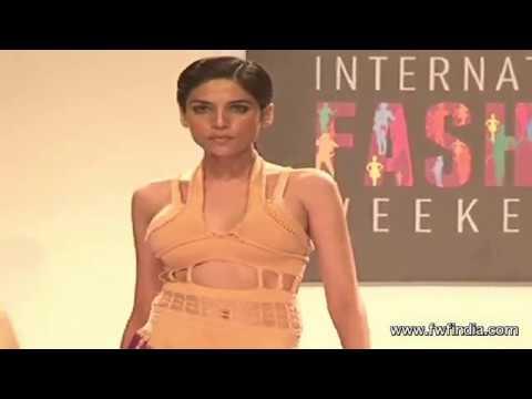 Hot Models In See Through Dresses - Signature International Fashion Week 2013  - Uncut video