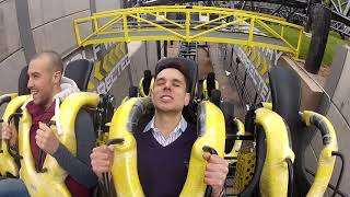 Express reporter Nathan Rao rides Alton Towers newest roller coaster The Smiler.