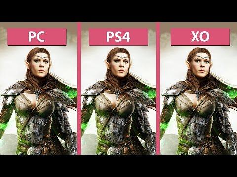 The Elder Scrolls Online – PC vs. PS4 vs. Xbox One Graphics Comparison [60fps][FullHD]