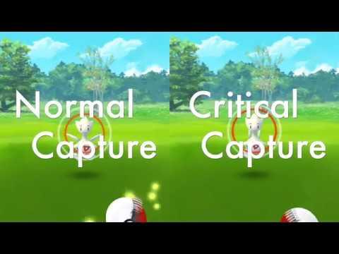 Pokemon Go Normal Capture vs Critical Capture