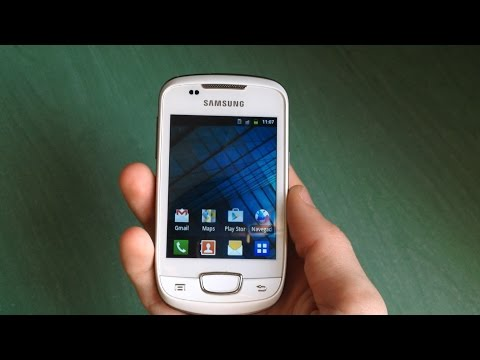 Samsung Galaxy Mini (GT-S5570) quick review (ringtones. wallpapers. etc)