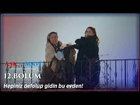 Aşk ve Mavi 12.Bölüm - Safiye hırsını alıyor!