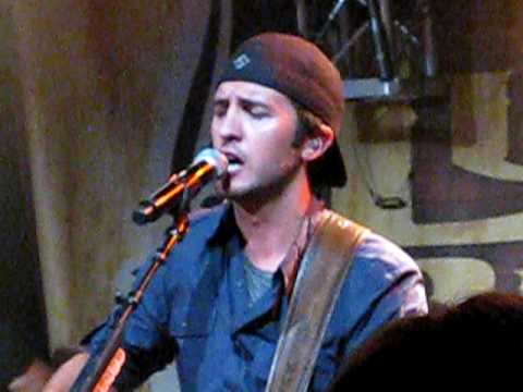 Luke Bryan - Good Directions live from 2009 Fan Club Party