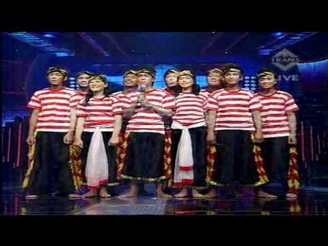 "Nawawi Ansamble Ayu DP ""Bad Romance - Lady Gaga"" IMB 2 SEMIFINAL8 - 30 Jan 2011"