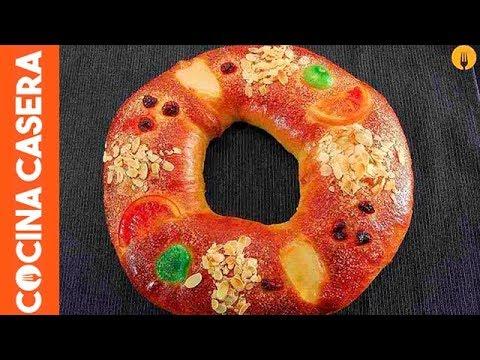 Roscón de Reyes casero. Recetas de Navidad